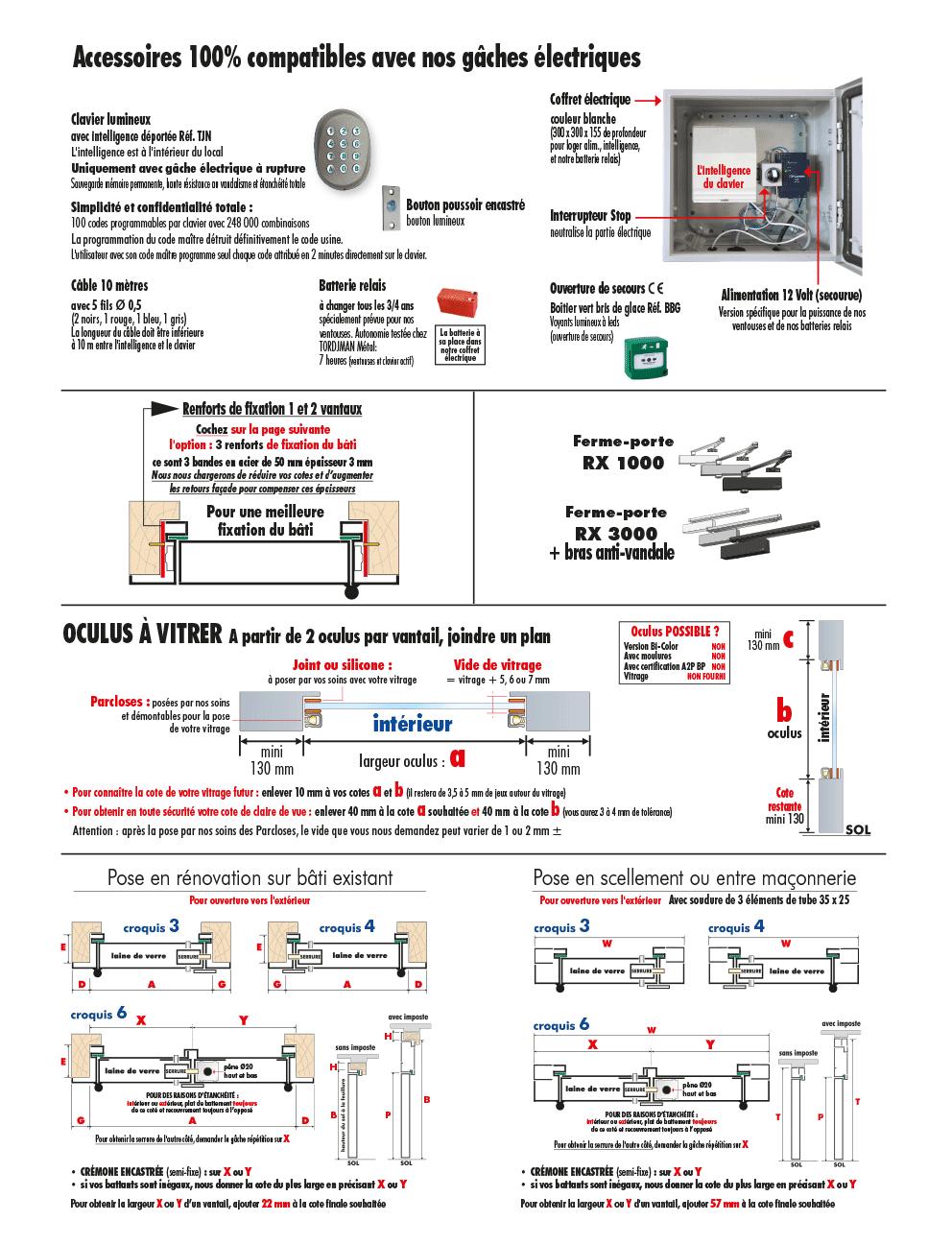 Porte d 39 entr e blind e newporte tordjman metal for Porte d entree a2p