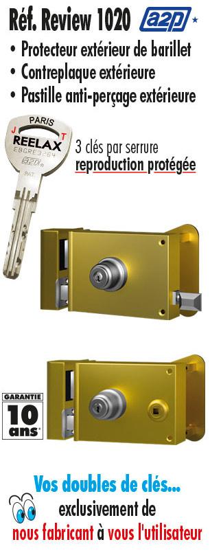 af39de80bf1 La serrure 1 point horizontale Reelax - Tordjman métal
