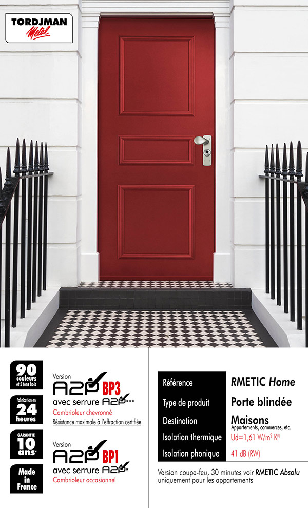 Porte blindee RMETIC Home