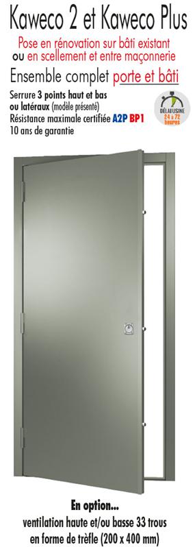 Porte de cave blind e porte metallique tordjman metal Porte de service blindee lapeyre
