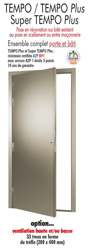 Porte de cave blind e porte metallique tordjman metal - Porte de cave ...